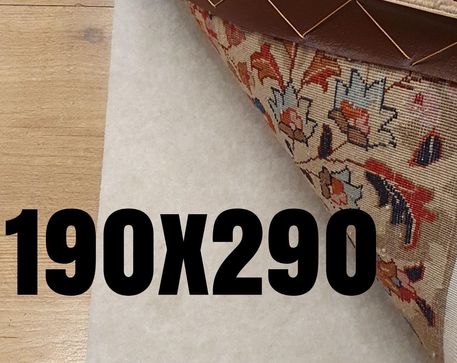 Anti slip tapijt vintageperzen 190x290